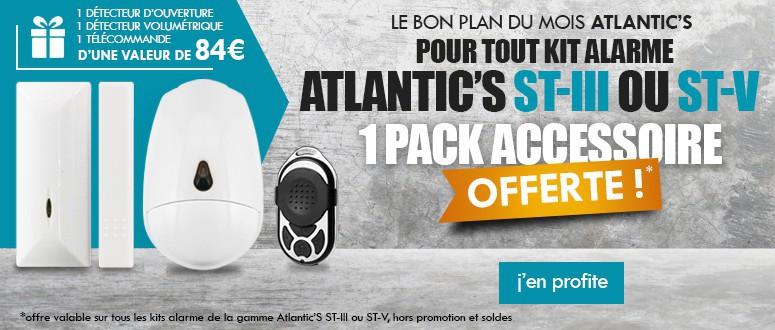 Pack accessoire pour toute commande d'un pack Alarme Atlantic's ST-III ou ST-V