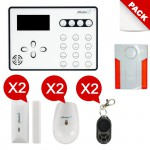 Alarme maison GSM sans fil  Atlantic'S ATEOS Kit 3