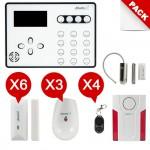 Alarme maison GSM sans fil  Atlantic'S ATEOS Kit Max