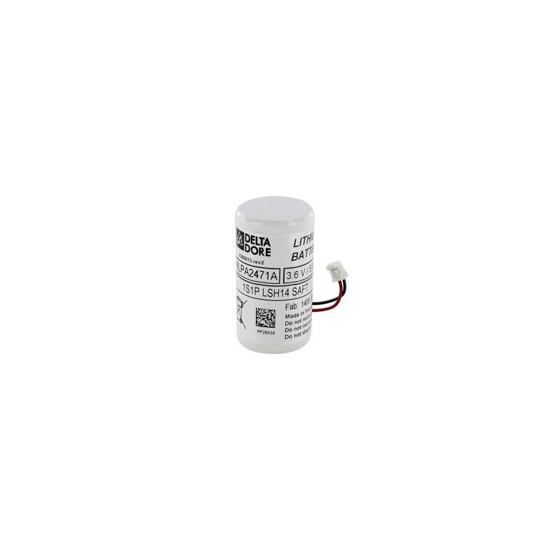 Batterie pour détecteur de mouvement bi-lentille vidéo Tyxal +