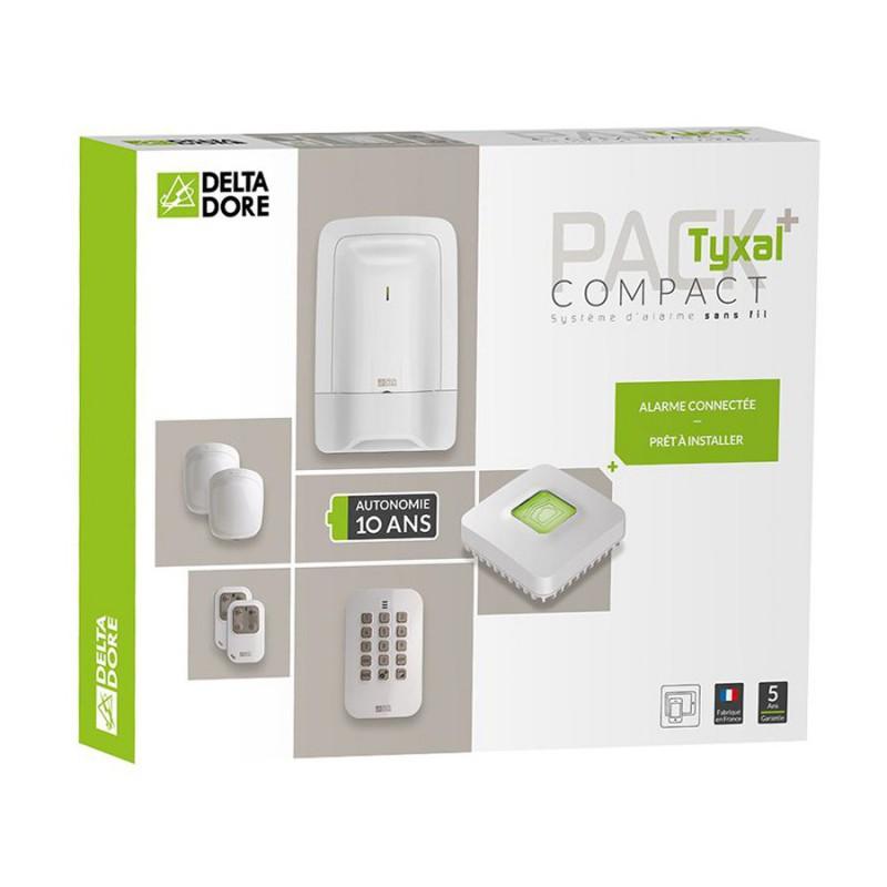 Alarme Tyxal + Compact Delta Dore
