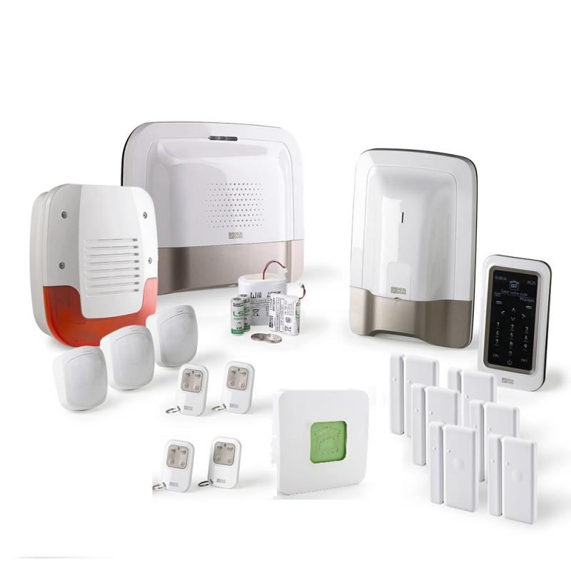 Alarme maison GSM Delta Dore – Pack alarme Tyxal + Kit n°4