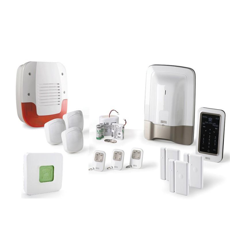 Alarme maison Delta Dore – Pack alarme Tyxal + Kit n°2