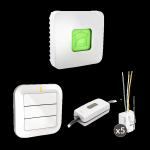 Pack commande volets roulants et éclairage – Delta Dore – Tyxia 640