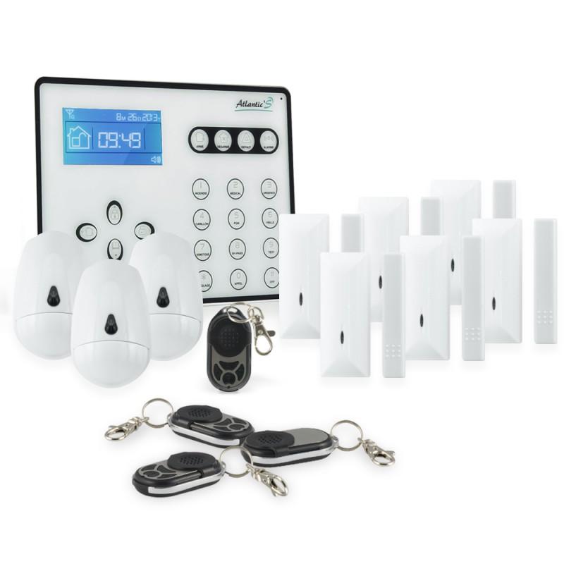 syst me d alarme maison gsm sans fil atlantic 39 s at os kit 4. Black Bedroom Furniture Sets. Home Design Ideas