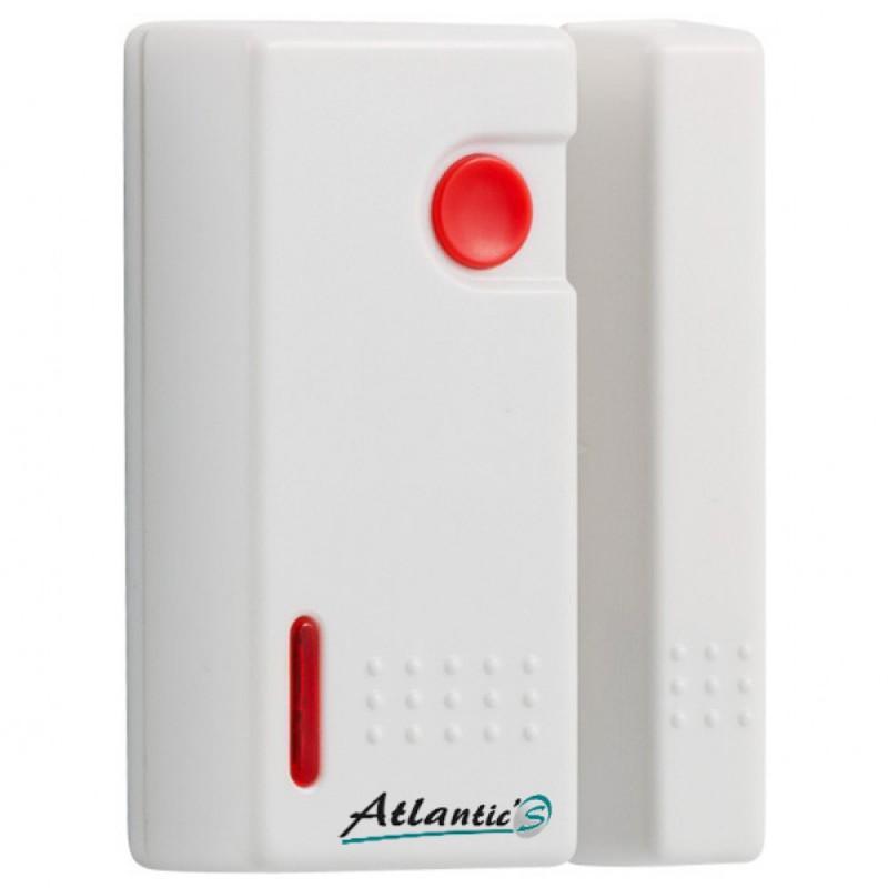 Détecteur d'ouverture sans fil + urgence Atlantic'S