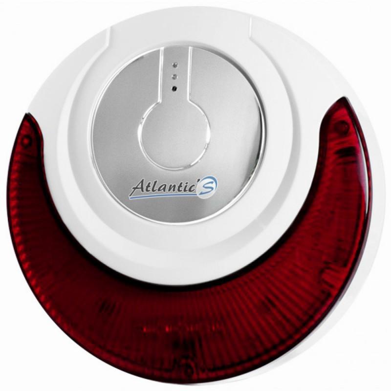 Sirène intérieure sans fil Atlantic'S avec flash