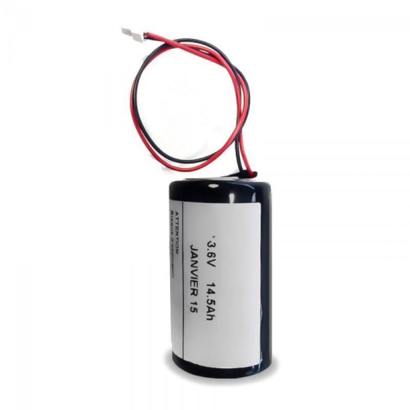 Batterie d'origine pour sirène Visonic MCS-710, MCS-720 et 730