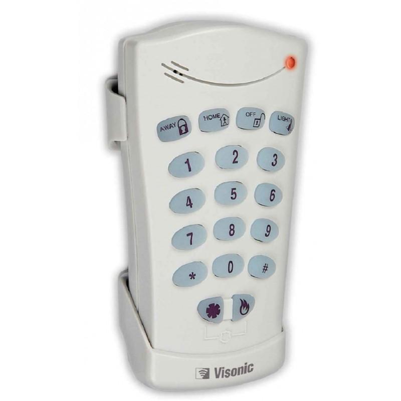 Clavier de commande pour contrôle alarme à distance