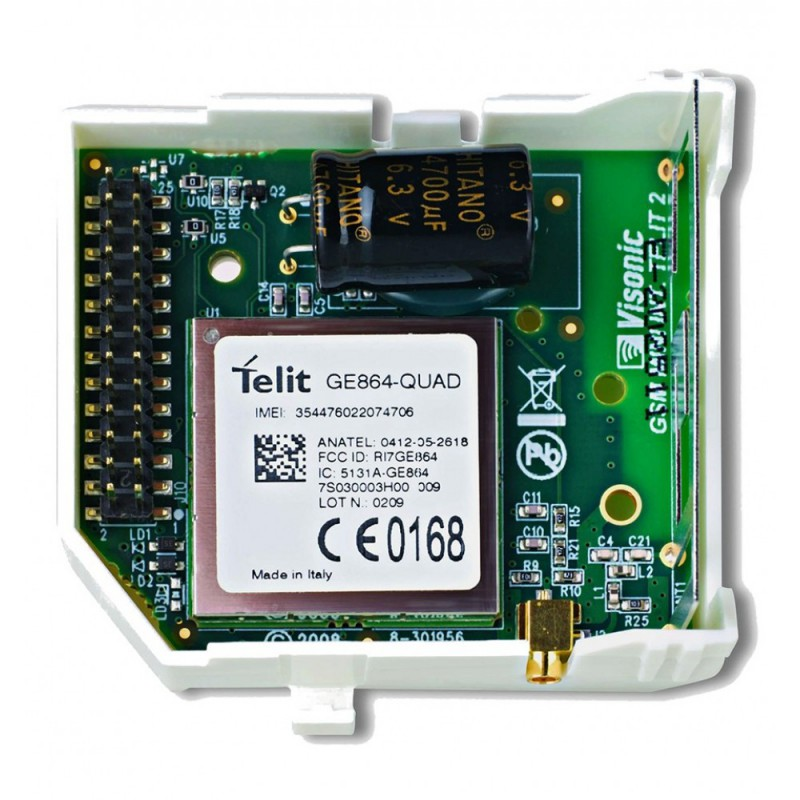 Envoi message vocaux et sms : Module GSM Visonic