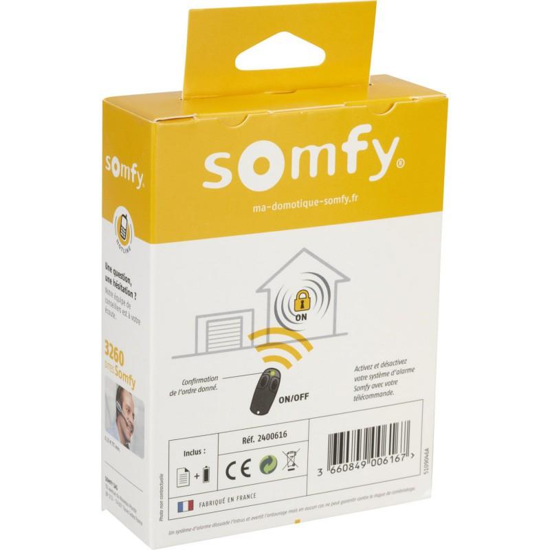 Télécommande On/Off pour alarme Somfy