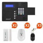 Pack Alarme sans fil GSM Atlantic'S Kit 2