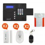 Pack Alarme sans fil GSM Atlantic'S Kit 3