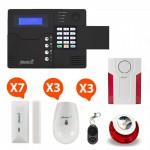 Pack Alarme sans fil GSM Atlantic'S Kit 7