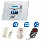 Alarme sans fil Visonic Powermax Pro Kit 6