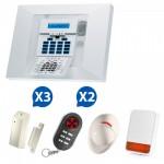 Alarme sans fil Visonic Powermax Pro Kit 3+