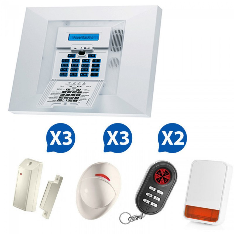 Alarme sans fil Powermax Pro Kit 6+
