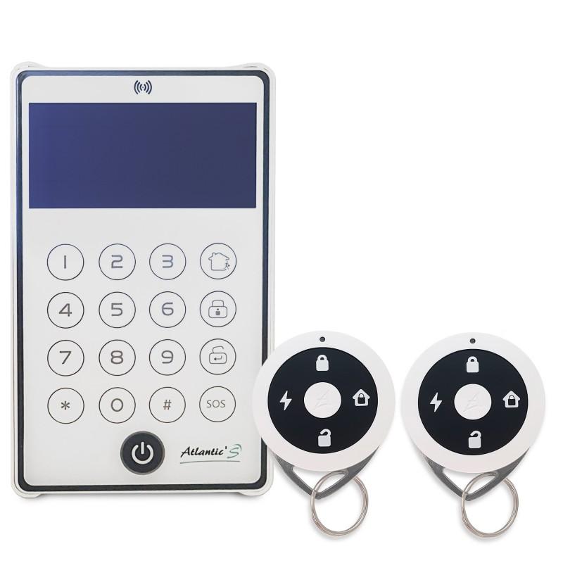 Pack 1 clavier CD-543R + 2 télécommandes TE-443R - Atlantic'S