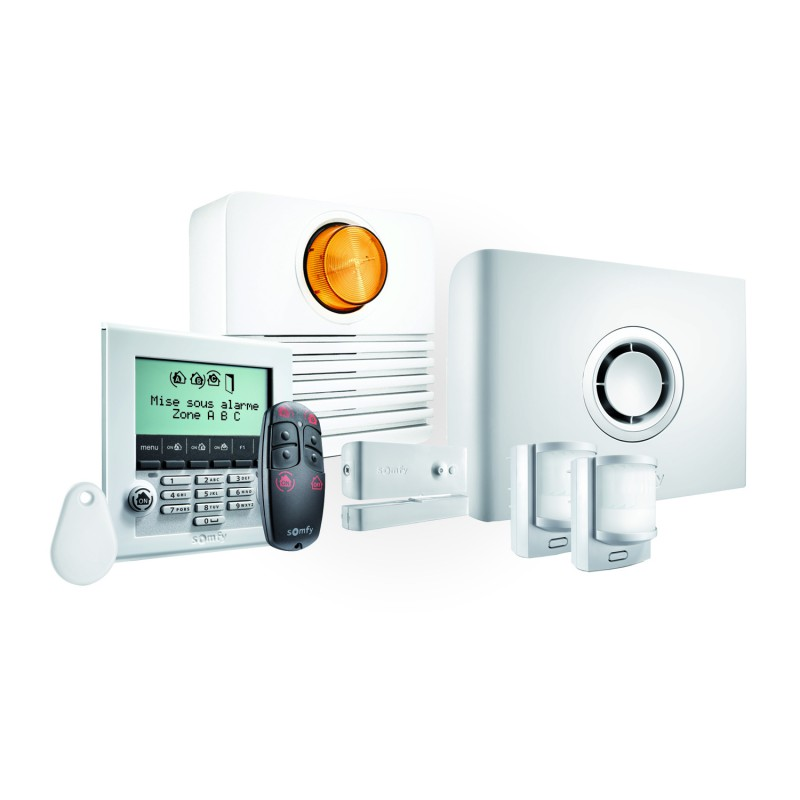 Pack alarme Somfy Protexiom Ultimate GSM