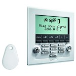 Clavier LCD ultra-plat pour alarme Somfy Protexiom