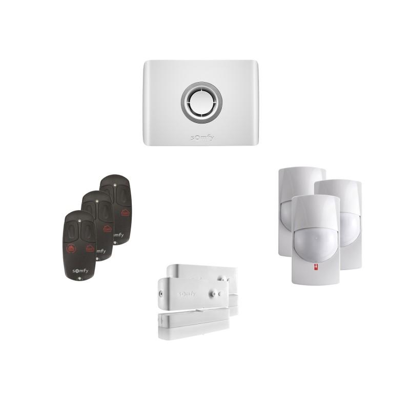 Kit 1 Alarme connectée Protexiom Online - Somfy