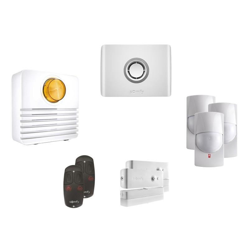Kit 2 Alarme connectée Protexiom Online - Somfy