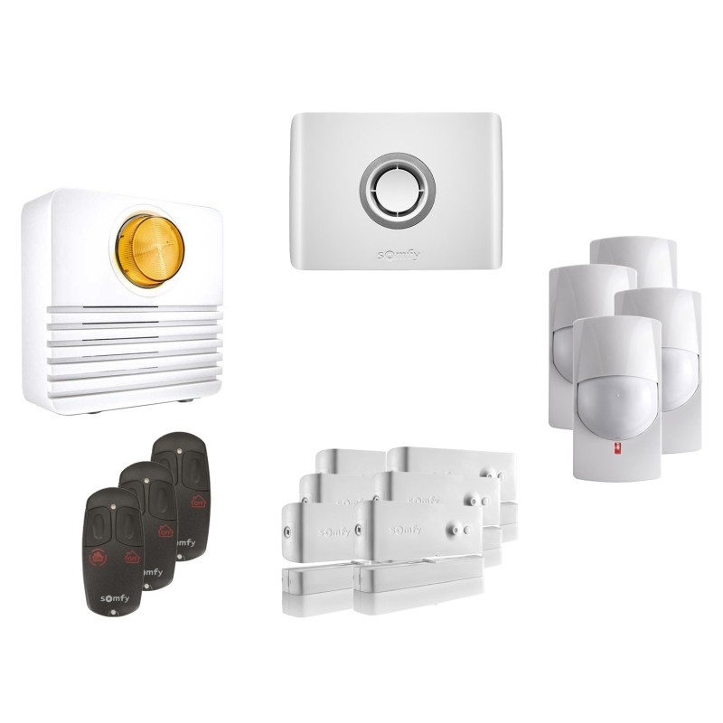 Kit 3 Alarme connectée Protexiom Online - Somfy