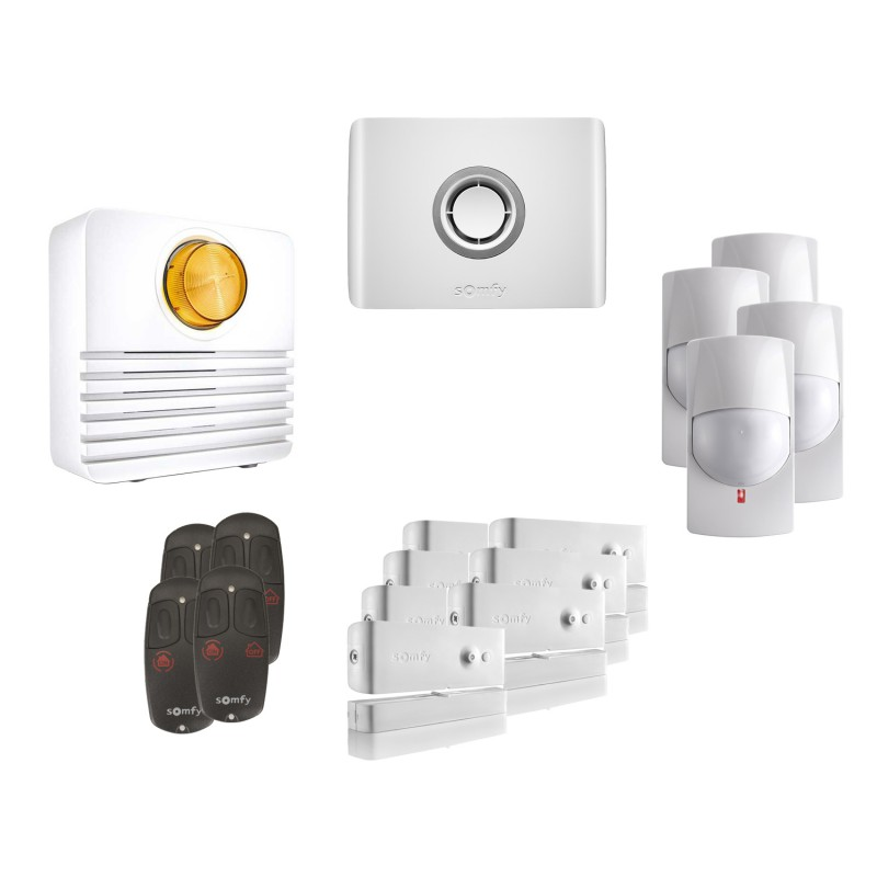 Kit 4 Alarme connectée Protexiom Online - Somfy