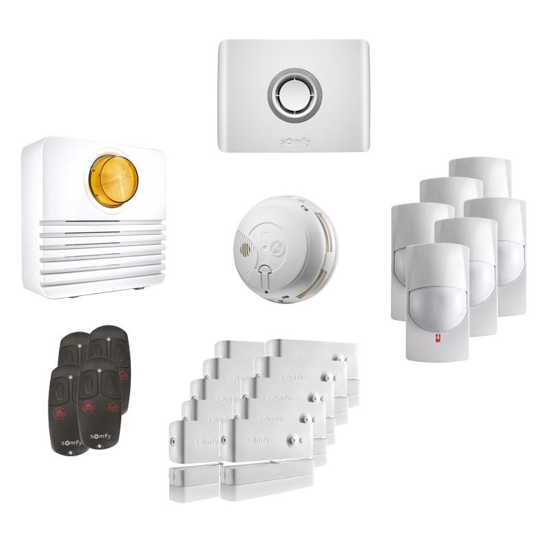 Kit 5 Alarme connectée Protexiom Online - Somfy