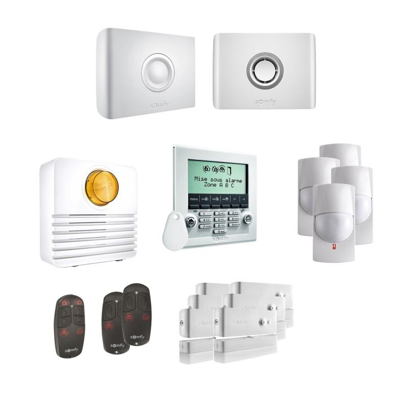 Kit 3 Alarme connectée Protexiom Online Premium - Somfy