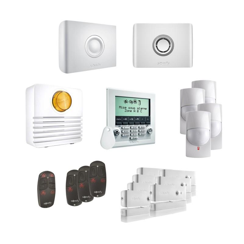 Kit 4 Alarme connectée Protexiom Online Premium - Somfy
