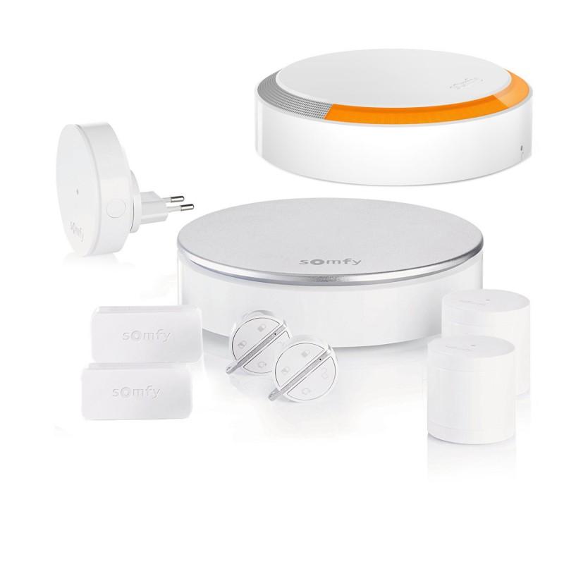 Pack alarme connectée Somfy Home Alarm - Kit 2