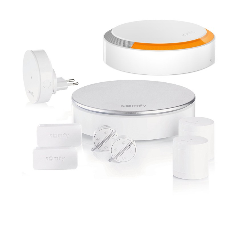 Pack alarme connectée Somfy Home Alarm - Kit 2