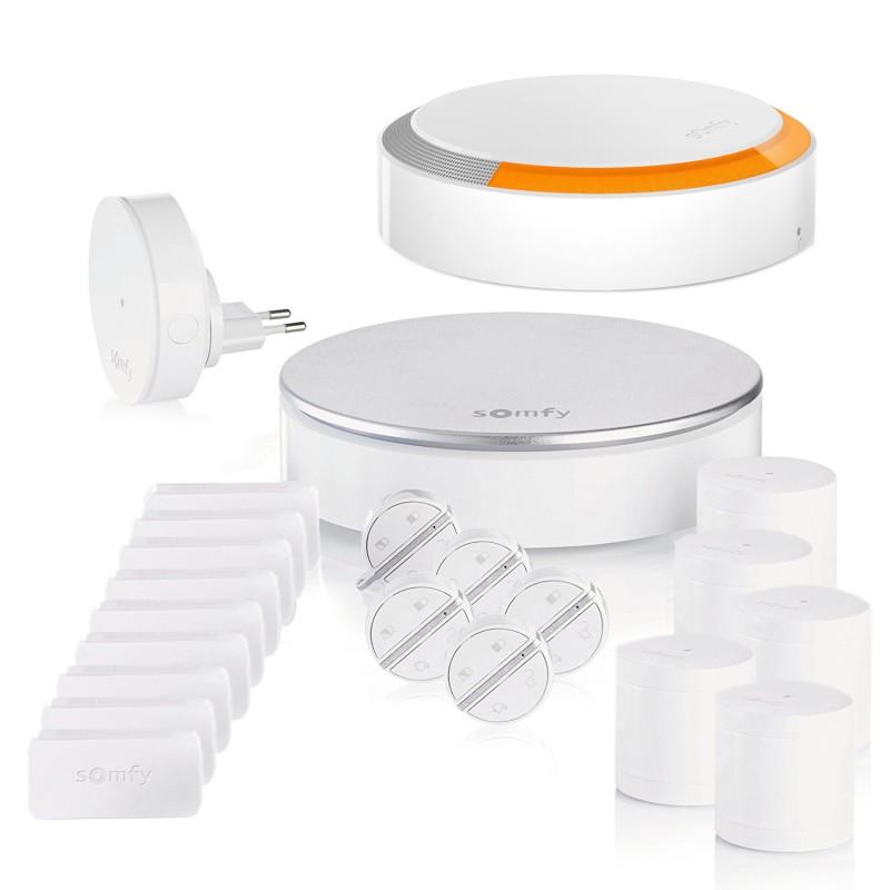 Pack alarme connectée Somfy Home Alarm - Kit 5