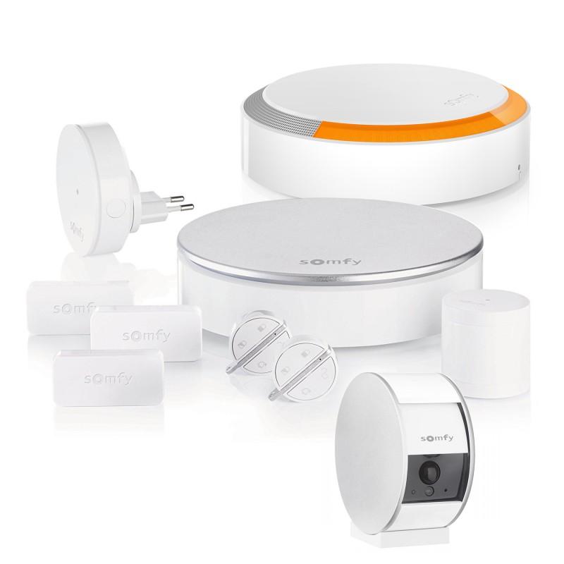 Pack alarme connectée Somfy Home Alarm - Option vidéosurveillance