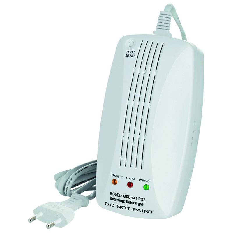 Détecteur de gaz méthane - Alarme Visonic Powermaster