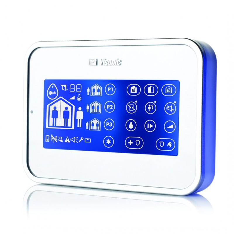 Clavier déporté LCD tactile - Alarme Visonic Powermaster