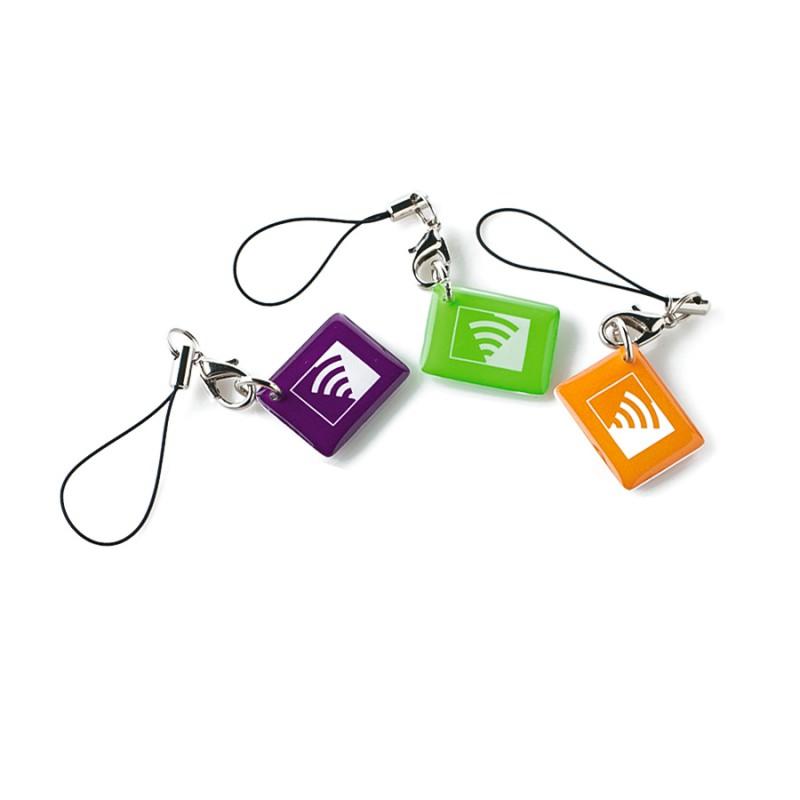 Assortiment 3 badges RFID pour Alarme Visonic Powermaster