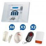 Kit 01 Alarme sans fil Visonic PowerMax Pro