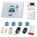Kit 03 Alarme sans fil Visonic PowerMax Pro