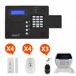 Pack Alarme sans fil GSM Atlantic'S Kit 4