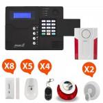 Pack Alarme sans fil GSM Atlantic'S Kit 9