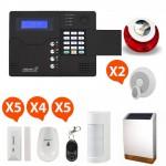 Pack Alarme sans fil GSM Atlantic'S Kit 12